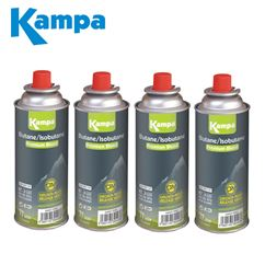Kampa Butane Gas Cartridge 227g - 4 Pack