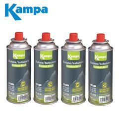 Kampa Butane Gas Cartridge 227g - 4 Pack
