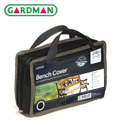 Gardman Gardman 2 Seater (4ft) Bench Cover - Black