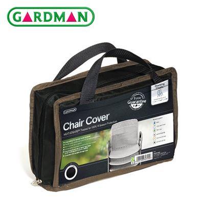Gardman Gardman Stacking Chair Cover - Black