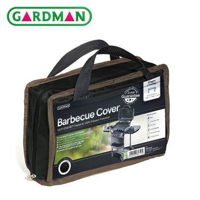 Gardman Gardman Wagon/Trolley Barbecue Cover - Black