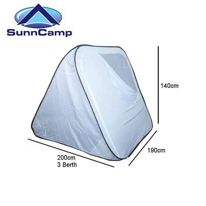 SunnCamp SunnCamp Pop Up Awning Inner Tent - 3 Birth