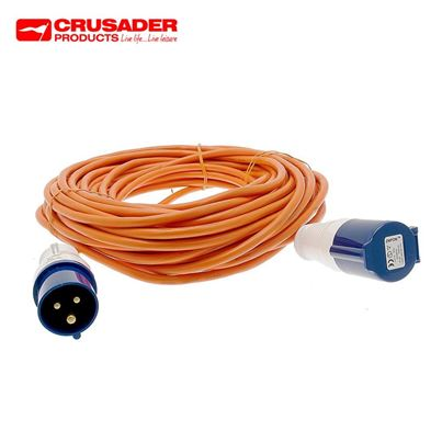Crusader 25m Caravan Mains Connection Lead - 1.5mm Core