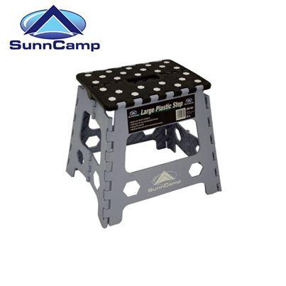 SunnCamp Large Plastic Foldaway Caravan Step