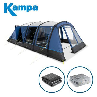 Kampa Kampa Croyde 6 AIR Tent Package Deal - 2021 Model