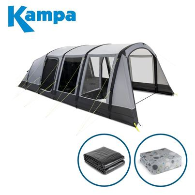 Kampa Kampa Hayling 6 AIR Tent Package Deal - 2021 Model