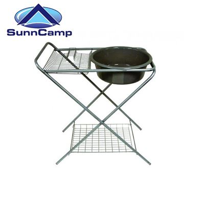 SunnCamp Deluxe Washing Up Stand with Bowl