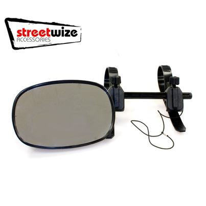 Streetwize Rock Steady Towing Mirrors Twin Pack