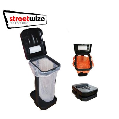 Streetwize Portable Folding Eco Bin