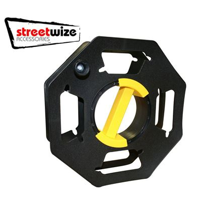 Streetwize Cable Tidy Reel For 25m Hook Up Mains Lead