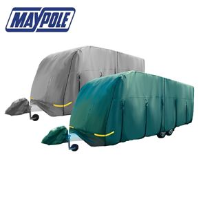 Maypole 4-Ply Caravan Cover With Free Hitch Cover & Storage Bag