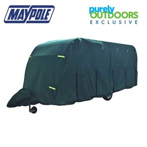 Maypole Breathable Ultimate 5-Ply Green Caravan Cover