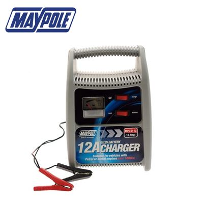 Maypole Maypole Battery Charger 12A 6V/12V Over 1800CC