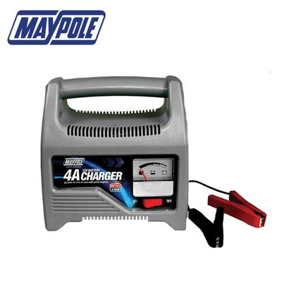Maypole Maypole Battery Charger 4A 12V Up To 1200cc