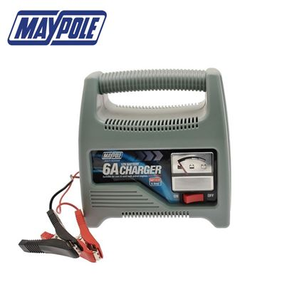 Maypole Maypole Battery Charger 6A 12V Upto 1800cc