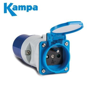 Kampa Dometic Kampa Type E Socket Adaptor
