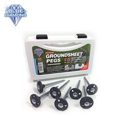 Blue Diamond Heavy Duty Groundsheet Pegs