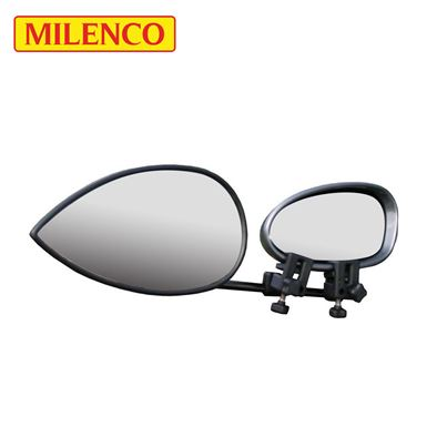 Milenco Milenco Aero Flat Towing Mirror