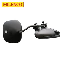 Milenco Grand Aero 3 Flat Towing Mirror Twin Pack