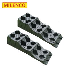 Milenco MGI Maxi Level T3 Wheel Leveller Twin Pack