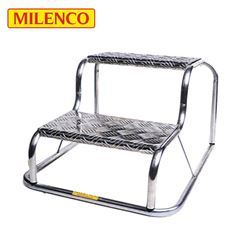 Milenco Original Aluminium Double Step