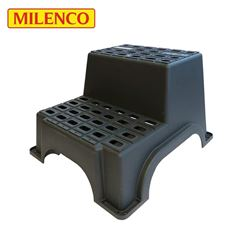 Milenco MGI Plastic Double Caravan Step
