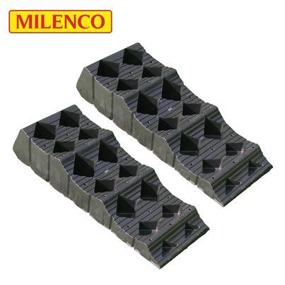 Milenco Milenco MGI Midi Level T2 Wheel Leveller Twin Pack