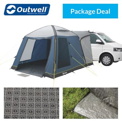 Outwell Outwell Milestone Air Driveaway Awning Package Deal