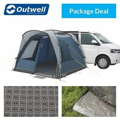 Outwell Outwell Milestone Pace Driveaway Awning Package Deal