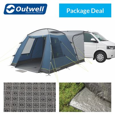 Outwell Outwell Milestone Driveaway Awning Package Deal