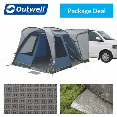 Outwell Outwell Milestone Pro Driveaway Awning Package Deal