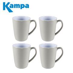 Kampa Seraph Grey 4 Piece Heritage Mug Set