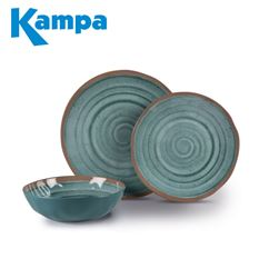 Kampa Terracotta 12 Piece Melamine Set