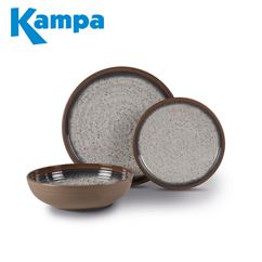 Kampa Farmhouse 12 Piece Melamine Set