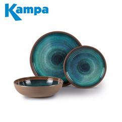 Kampa Java 12 Piece Melamine Set