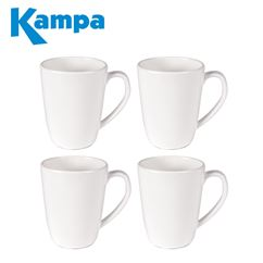 Kampa Blanco 4 Piece Mug Set