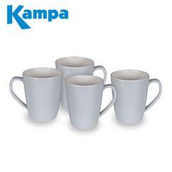 Kampa Classic Grey 4 Piece Mug Set