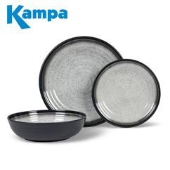 Kampa English Barn 12 Piece Melamine Set - New For 2020