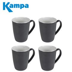 Kampa English Barn 4 Piece Mug Set