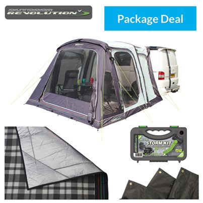 Outdoor Revolution Outdoor Revolution Movelite T2 High-Line Driveaway Awning Package Deal