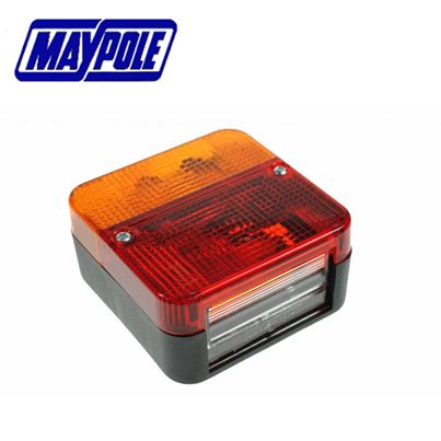 Maypole Maypole 12V Square Rear Combination Lamp