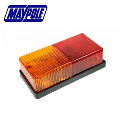 Maypole Maypole 12V Rectangle Rear Combination Lamp