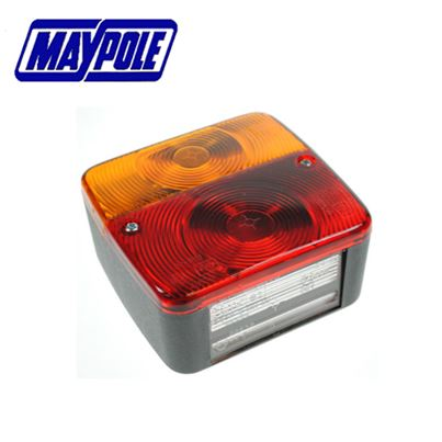 Maypole Maypole 12V Radex Square Rear Combination Lamp