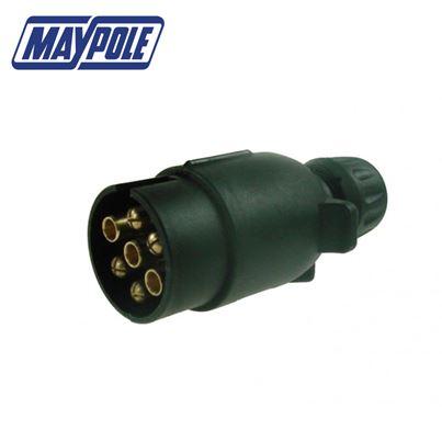 Maypole Maypole 12N Type 7 Pin Plastic Plug