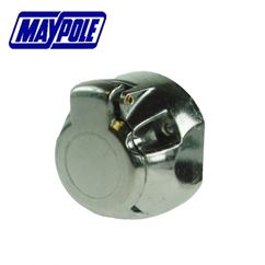 Maypole 12N Type 7 Pin Aluminium Socket