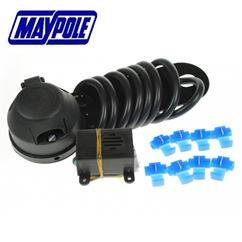 Maypole 7 Pin N Type Socket Assembly With Mounting Plate