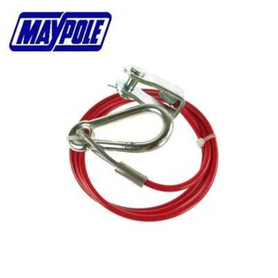 Maypole Maypole Breakaway 1m x 3mm Cable with Clevis Fastening