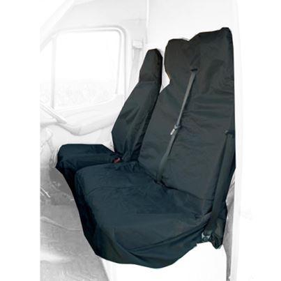 Maypole Maypole Universal Van Seat Protector Black