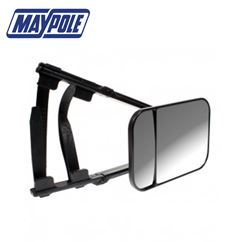 Maypole Universal Large Dual Towing Mirror