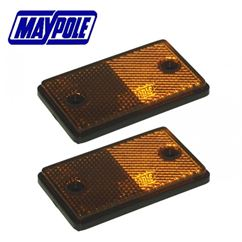 A Pair of Maypole Self Adhesive Reflectors